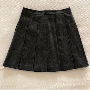 Tommy Hilfiger Wool Tweed Pleated Skirt NWT